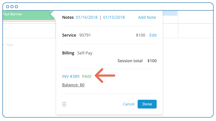 After clicking Add Payment, the invoice should be marked as PAID