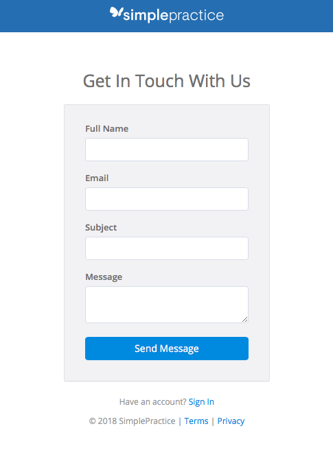 You can fill out your request on a specially made form for non-customers