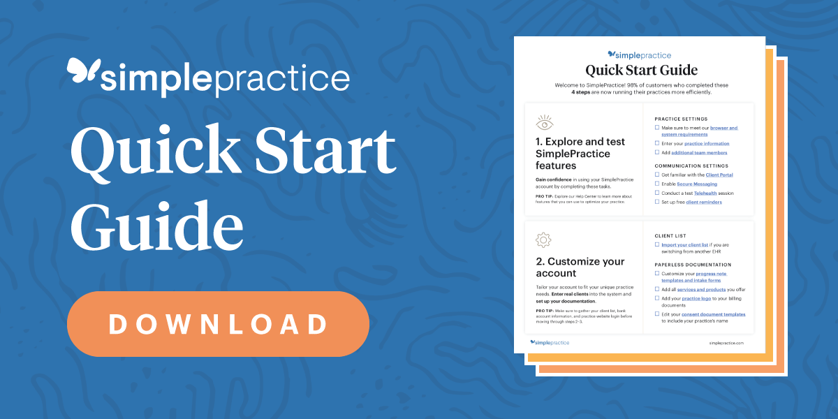 Click here to download our Quick Start Guide