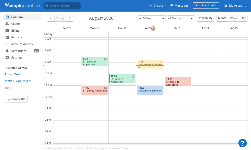 appointments.simplepractice.calendarhomepage.png